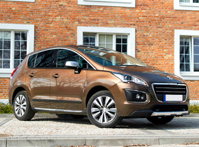 Rent Peugeot Bucharest Otopeni Airport