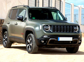 Rent Jeep Sibiu Airport